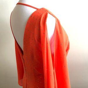 Bebe cold shoulder dress